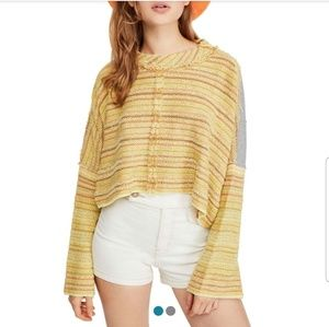 """🧡 FREE PEOPLE """" Catalina Top """" Bell Sleeves 🧡"""